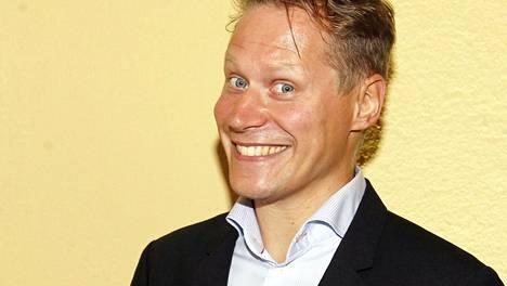 Kuvassa imitaattori ja näyttelijä Jarkko Tamminen kuvattuna syyskuussa 2015.