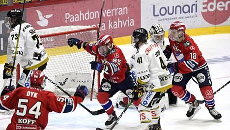 HIFK:lla kolme ottelupalloa välieriin Kärpät-sarjassa – KalPa ryösti kotiedun Tampereelta