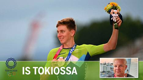 Tokion maantieajossa olympiapronssia saavuttanutta Slovenian Tadej Pogacaria pidetään ketjunpyörittäjien kiistattomana kuninkaana.