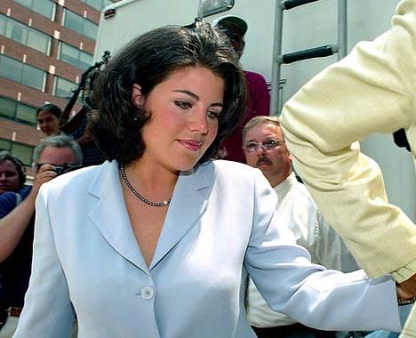Lewinsky vuonna 1998, kun salasuhde paljastui.