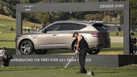 Tiger Woods vuonna 2020 PGA-kiertueella.