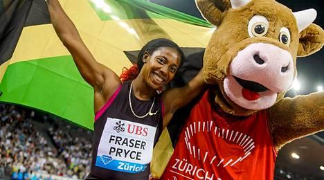 Shelly-Ann Fraser-Pryce on pitänyt viime vuodet hallussaan maailman nopeimman naisen titteliä.