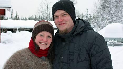 Heidi ja Antti löysivät toisistaan elämänkumppanit Maajussille morsian -sarjassa.