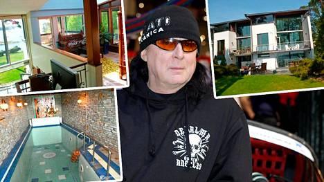 Ulosottovirasto on myynyt Leningrad Cowboys -yhtyeestä tutun ravintoloitsijan Sakke Järvenpään taloa.