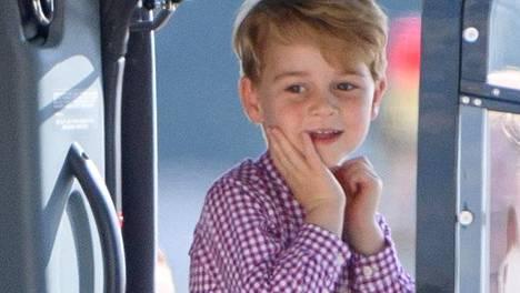 Prinssi Georgea koskeva artikkeli pöyristyttää sosiaalisessa mediassa.