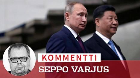 Vladimir Putinin ja Xi Jinpingin yhteinen etu on heikentää Yhdysvaltoja.