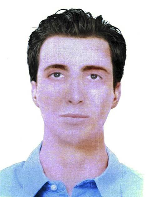 Bulgarian poliisin julkaisema tietokoneella laadittu havainnekuva.
