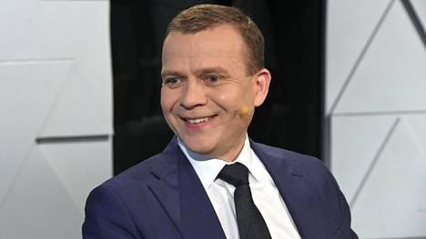 Kokoomuksen Petteri Orpo Ylen ensimmäisessä puheenjohtajatentissä.