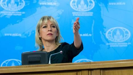 Venäjän ulkoministeriön tiedottaja Marija Zaharova ei pidä siitä, että useammat länsimaat ovat vaatineet Navalnyin vapauttamista.