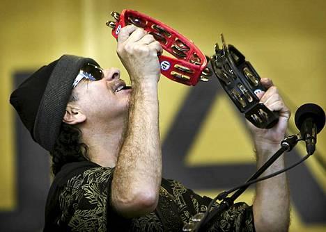 Carlos Santana Kirjurinluoto 18. heinäkuuta 2008.