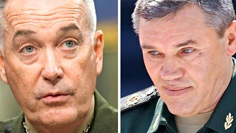 Yhdysvaltain puolustusvoimien komentaja Joseph Dunford Jr. ja Venäjän asevoimien komentaja Valeri Gerasimov tapaavat tänään Helsingissä.