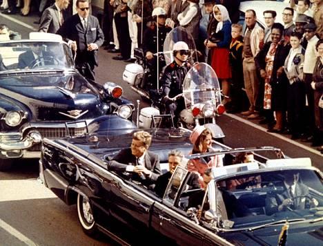 John F. Kennedyn salamurha tehtiin 22. marraskuuta 1963.