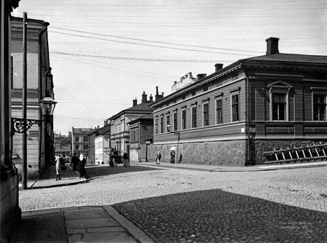 7. Hallituskatu vuonna 1907.