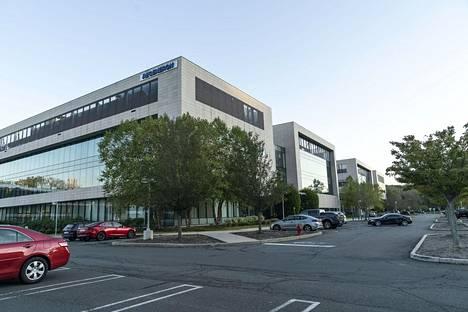 Regeneron-lääkeyhtiö sijaitsee Tarrytownissa, New Yorkin osavaltiossa.