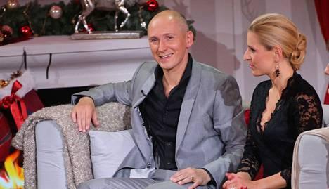 Helmut Lotti vieraili joulukuussa saksalaisessa keskusteluohjelmassa.