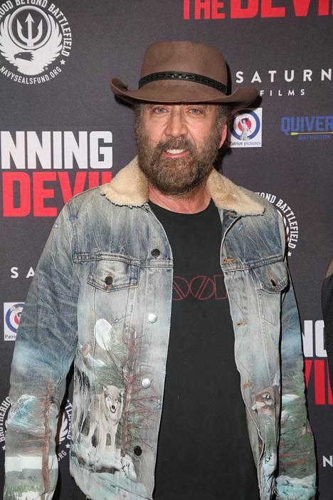 Cage esitteli muhkeaa partaansa vuonna 2019.