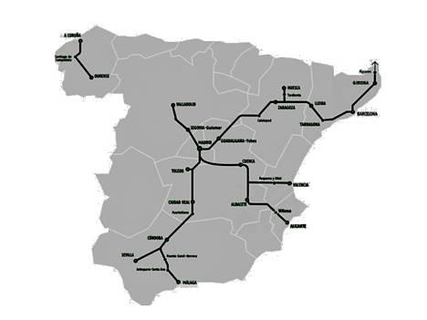 Espanjan suurnopeusrataverkko