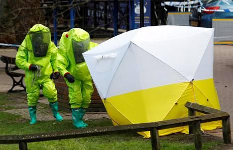 Ex-vakooja Sergei Skripal sai Britanniassa sotilastason hermomyrkkyä ja tapauksella on väitetty olevan yhteys Euroopassa toimivaan venäläiseen salamurharyhmään.