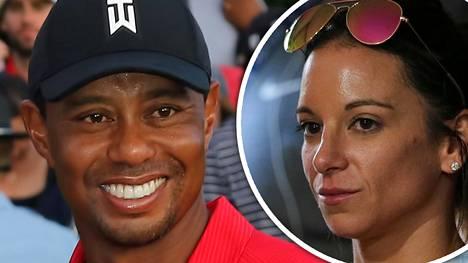 Tässä on salaperäinen Erica – pettämiskohuissa ryvettynyt Tiger Woods syleili naisystäväänsä kameroiden edessä