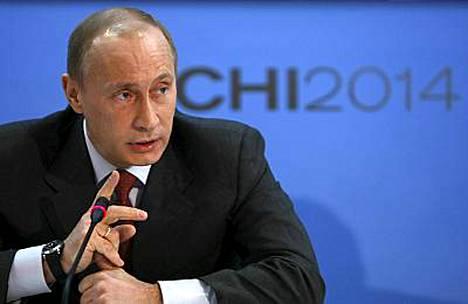 Vladimir Putinin mielestä Venäjällä pitää taistella energisesti dopingia vastaan.