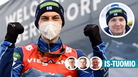 Ilkka Herolan ja Petter Kukkosen (pieni kuva) pitkä uurastus palkittiin.