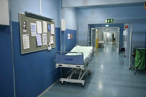 Syke-ohjelman viidettä kautta varten on rakennettu uusi, aitoa sairaalaympäristöä mukaileva kuvausstudio.