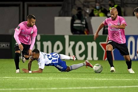HJK jäi Konferenssiliigan avauksessaan itävaltalaisen LASKin jalkoihin.