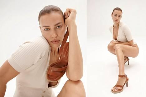 Irina Shayk tuoreissa mallikuvissaan.
