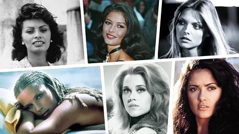 Elokuvien kauneusikonit pari-kolmekymppisinä. Miltä he näyttävät nyt?