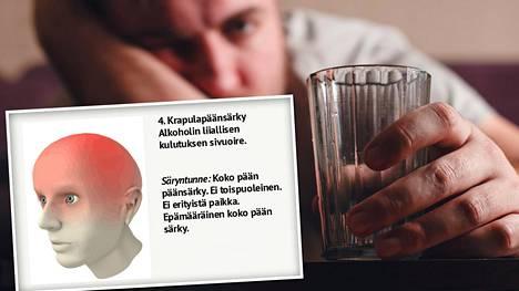 Yksi kuva kertoo, mistä päänsärkysi voi johtua
