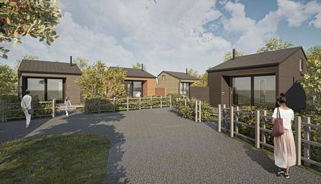 Garden Villagen mökit rakennetaan Espoon kaupungin tonteille. Vuokrasopimus kaupungin kanssa on 30 vuoden mittainen.
