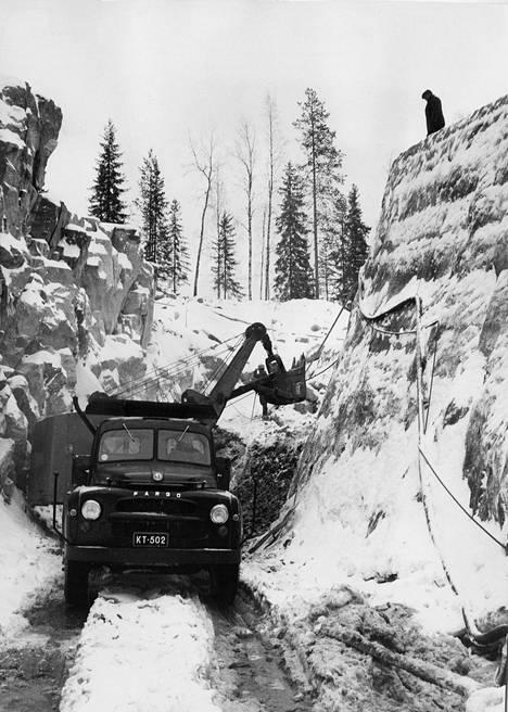 Suomen toistaiseksi ainoaksi jäänyt uraanikaivos Enon Paukkajanvaarassa toimi vuosina 1958-61.