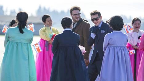 Seth Rogen ja James Franco ovat pääosassa Interview-elokuvassa.