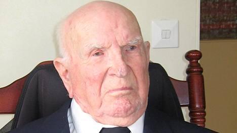 Väinö Loisa menehtyi 108-vuotiaana.