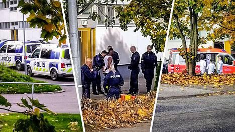 Helsingin Pihlajamäessä tapahtui väkivallanteko lauantaina aamupäivällä.