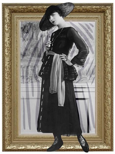1920-luvulla kunniallisetkin nuoret naiset ryhtyivät maalaamaan huuliaan ihan päiväsaikaan eikä vain iltajuhliin.