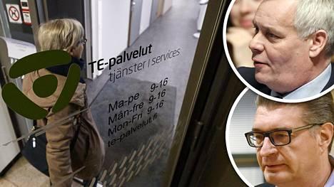 Sdp:n Antti Rinne ja Ammattiliitto Pron Jorma Malinen kritisoivat viime vuonna työelämäkokeilua kovin sanoin.