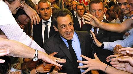 Ranskan presidentin Nicolas Sarkozyn kannatus on tuoreen kyselyn mukaan nousussa.