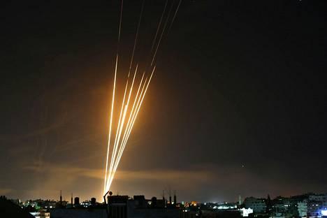Valtaosa Gazassa olevista raketeista on Hamasin hallussa.