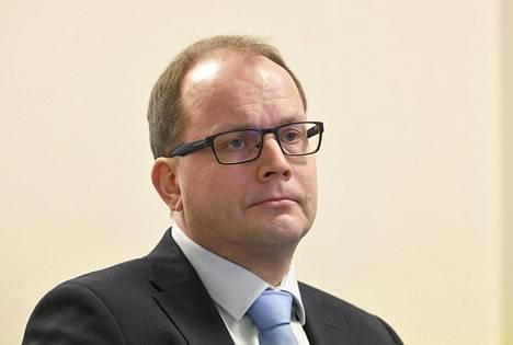Huoltovarmuuskeskuksen johtaja Tomi Lounema.
