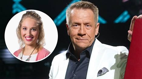 Lumi Ollila lauloi Voice of Finlandin kaudella 2018 Olli Lindholmin tiimissä.