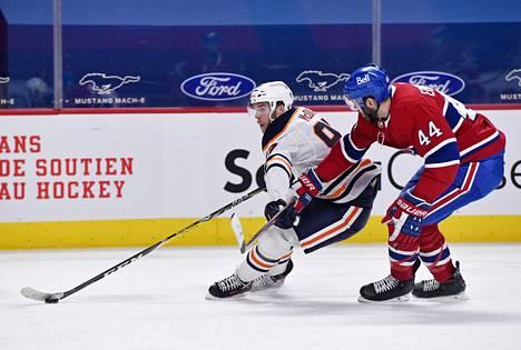 McDavid on ylivertainen pelaaja NHL:ssä.
