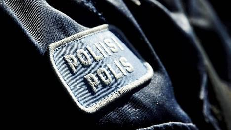 Poliisi työssään Helsingissä 3. toukokuuta 2017.