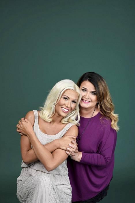 Maisa ja Meiju esiintyivät samassa tv-ohjelmassa.