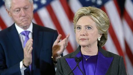 Demokraattien Hillary Clinton kärsi kirvelevän tappion Yhdysvaltain presidentinvaaleissa.
