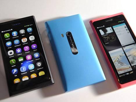 Nokia N9 jäi yhtiön viimeiseksi omalla käyttöjärjestelmällä toimivaksi huippumalliksi.