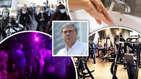 Koronatilanne kiihtyy Suomessa, ja järki kannattaa pitää päässä, HUSin infektiosairauksien ylilääkäri Asko Järvinen sanoo.