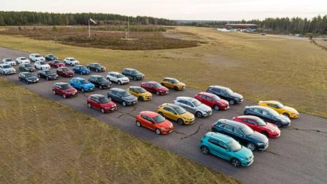 Vuoden Auto Suomessa -ehdokkaat kootaan yhteen loppuvuodesta, jolloin alkavat myös äänestykset. Osa ehdokaslistasta on kuitenkin jo varmuudella selvillä. Kuva VAS2020-valinnan esikarsinnasta.