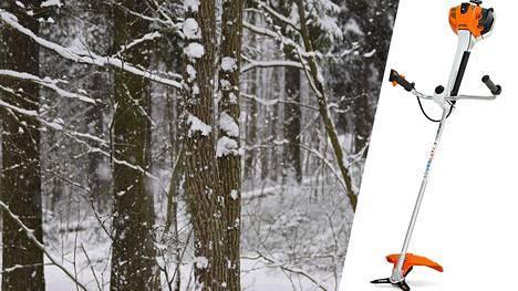 Metsurien käyttämä Stihl FS 460 -raivaussaha lipesi ja seuraukset olivat vakavat.