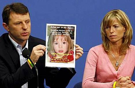 Lähes vuosi sitten kadonneen Madeleine McCannin vanhemmat Kate ja Gerry McCann on kutsuttu Portugaliin poliisin tutkimuksia varten.